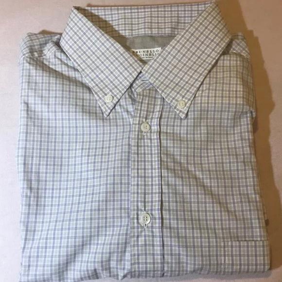 Brunello Cucinelli Other - BRUNELLO CUCINELLI Mens Button Shirt